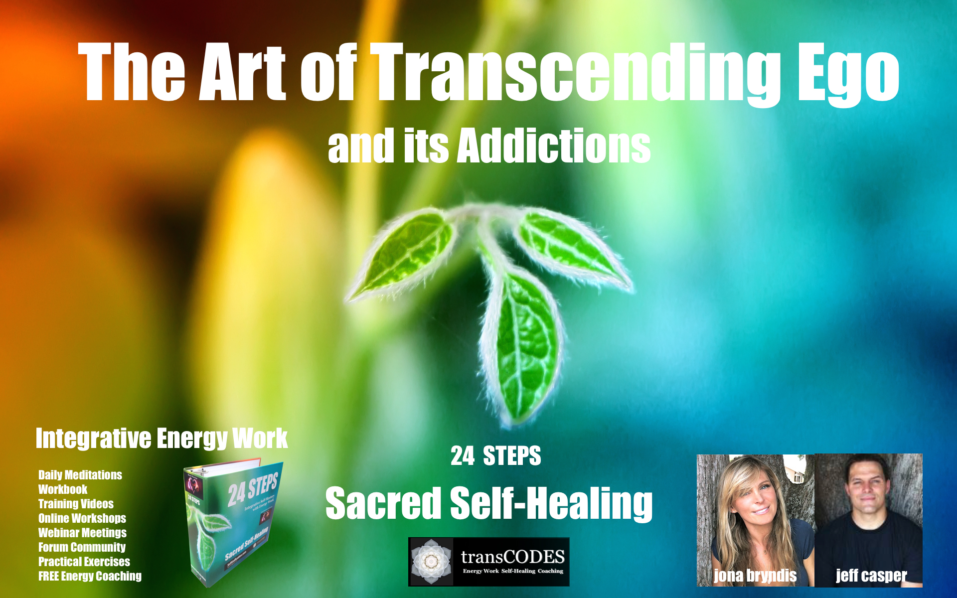 24 Step – Sacred Self-Healing Program – $39/month!