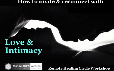Healing Circle Workshop – This Saturday 12/9/17 @ 1-4pm